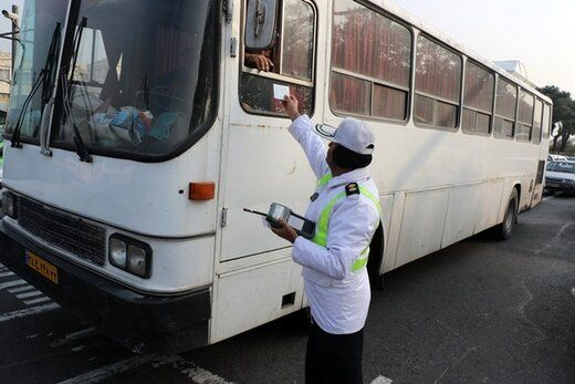 برخورد با خودروهای دودزا در تهران