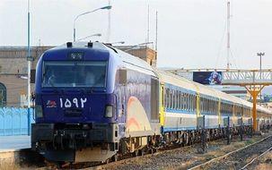 خروج قطار از ریل در  مسیر بندر امام خمینی به اهواز