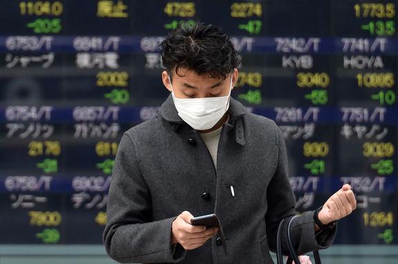احتیاط سرمایهگذاران آسیایی به دنبال رشد خیرهکننده ابتلا به کرونا در آمریکا
