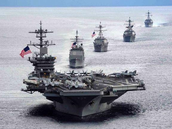 واکنش ناوگان دریایی آمریکا به توقیف یک نفتکش در خلیج فارس