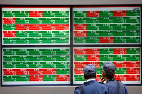 ریزش سهام آسیا اقیانوسیه بهرغم رشد سهام امریکا