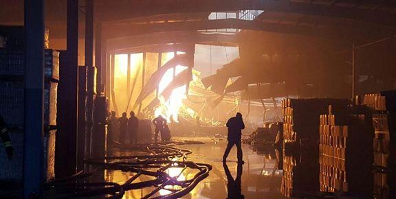 شرکت ایرانچسب  در آتش سوخت / یک کشته و پنج مصدوم