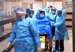 تشنج شدید بیمار مبتلا به ویروس کرونا در ووهان چین + فیلم