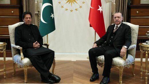 حمایت عمران خان از عملیات نظامی ترکیه در شمال سوریه