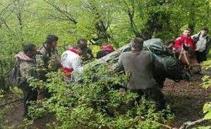 کشف جسد در جنگل های اسالم