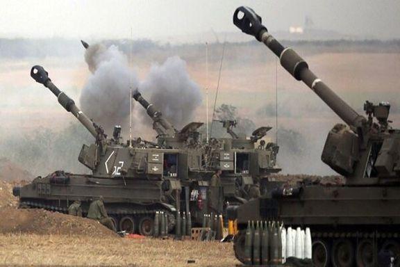 حملات  توپخانه ای رژیم صهیونیستی به غزه تشدید شد/ 12 شهید و 105 نفر  زخمی شدند