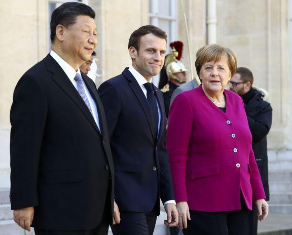 مذاکره یک ساعته سران چین، فرانسه و آلمان درمورد ایران