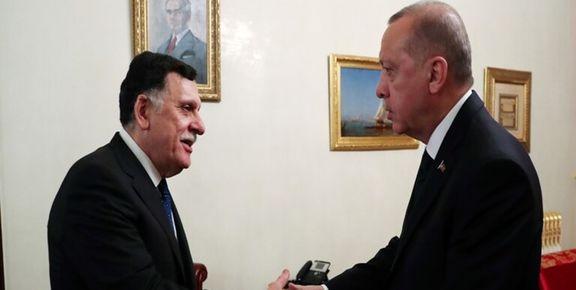 سفر ناگهانی رئیس دولت وفاق ملی لیبی  به ترکیه