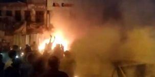 4 انفجار متوالی در مرکز بغداد