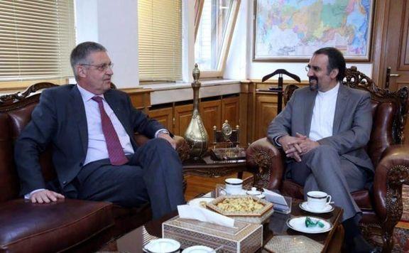 رایزنی برجامی سفیران ایران و اتحادیه اروپا در مسکو