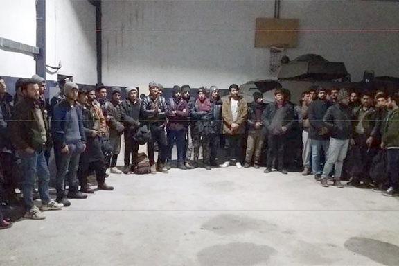 پلیس ترکیه 470 مهاجر غیرقانونی که قصد عبور از مرز را داشتند بازداشت کرد