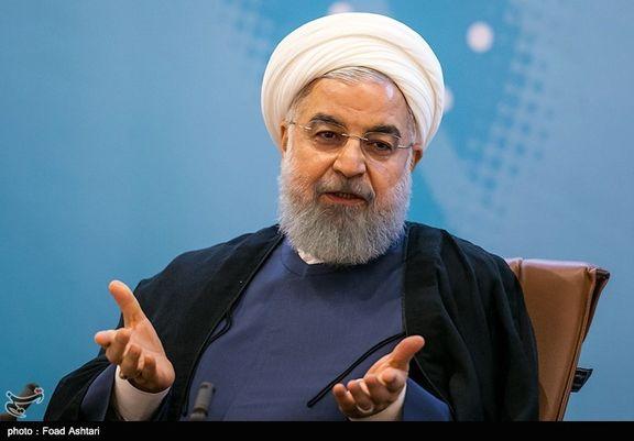 حمایت روحانی از بازار سرمایه/ نقش حیاتی بورس در عبور از تحریم ها از زبان رئیس جمهور