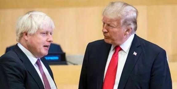 واکنش ترامپ به نخست وزیر شدن جانسون