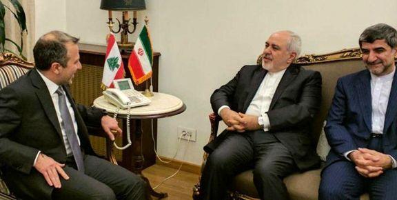 وزرای خارجه ایران و لبنان با هم  به گفتوگو  کردند