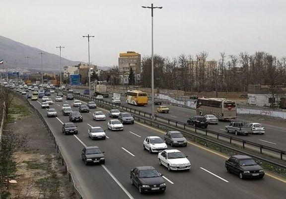 افزایش 2.5 درصدی تردد بین استانی نسبت به دیروز