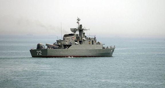 حضور ناوگروه ارتش در اقیانوس اطلس برای نخستین بار