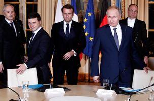 تنش لفظی بین آنگلا مرکل و ولادیمیر پوتین در اجلاس نرماندی / روسیه و اوکراین بر سر انتقال گاز به کیف توافق کردند