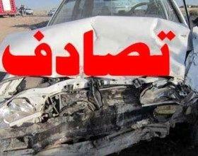 تصادف در مرکز ایران با 12 مصدوم
