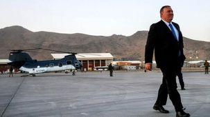 مایک پمپئو به کابل رفت