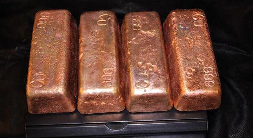 رشد ۱.۶ درصد قیمت مس در معاملات بورس فلزات لندن