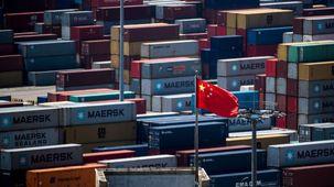 کاهش شدید صادرات چین  / صادرات چین به آمریکا 17 درصد کاهش یافت