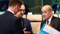 سه وزیر خارجه انگلیس، فرانسه و آلمان با یکدیگر برسر ایران رایزنی کردند
