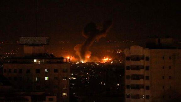 اسرائیل شب گذشته حمله های خود به غزه را دوباره شروع کرد