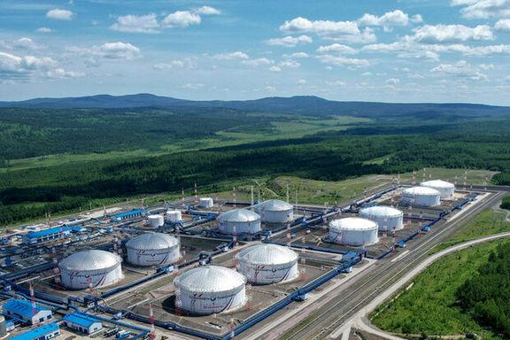 سقوط ۸ درصدی صادرات نفت خام روسیه