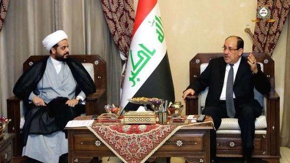 مالکی و الخزعلی بر تشکیل ائتلاف فراگیر در عراق تأکید کردند