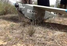 پهپاد سرنگون شده آمریکایی توسط ارتش و کمیتههای مردمی یمن