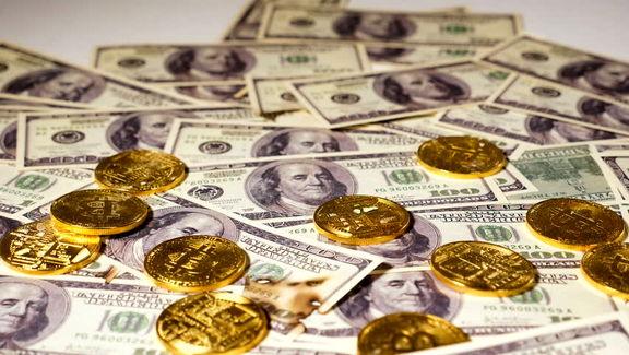 آخرین قیمت دلار و سکه تا ساعت ۱۸