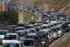 افزایش ترافیک در جادههای شمالی کشور