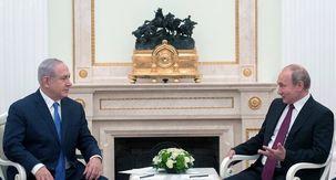 ولادیمیر پوتین تولید 70 سالگی نتانیاهو را تبریک گفت