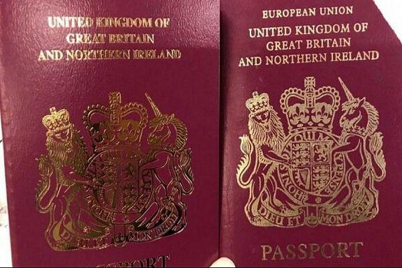 گذرنامه های جدید لندن فاقد عنوان «اتحادیه اروپا» است