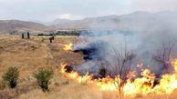 اراضی کشاورزی شهرستان باغملک و هفتکل دچار آتشسوزی شد