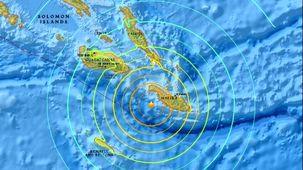 زلزله سلیمان را لرزاند/زلزله 6.3 ریشتری در جزایر سلیمان