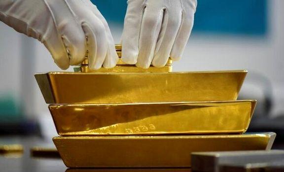 افت قیمت طلای جهانی/ثبت بزرگترین کاهش هفتگی در ماه اخیر