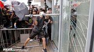ادامه ناآرامی ها درهنگ کنگ برای دهمین هفته متوالی