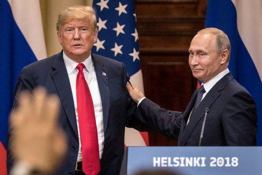 پوتین با ترامپ ابراز همدردی کرد