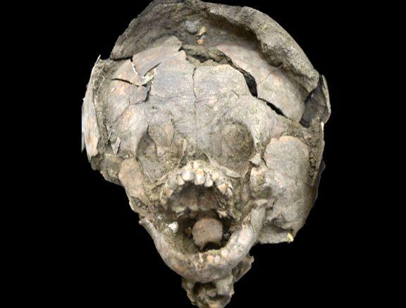 کشف بقایای نوزادانی باستانی با کلاه ایمنی