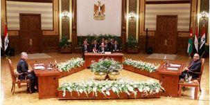 برگزاری نشست سه جانبه اردون، مصر و عراق در قاهره