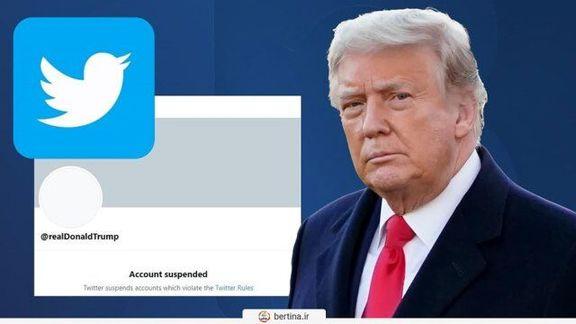 وبلاگ ترامپ از دسترس خارج شد