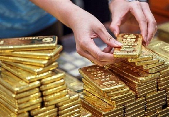 کاهش قیمت طلا به ۱٫۸۶۵ دلار