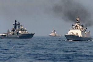 نیروهای دریای سیاه روسیه دائما مراقب کشتی های آمریکایی هستند