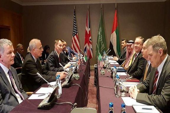 وزرای انگلیس، آمریکا، عربستان علیه ایران بیانیه دادند