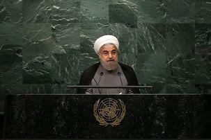 روحانی: آمریکا فکر میکند چون زور دارد حق هم دارد/سخن ما روشن است: تعهد در برابر تعهد، نقض در برابر نقض