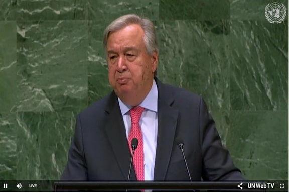 بیانیه دبیرکل سازمان ملل درباره  نشست صلح یمن