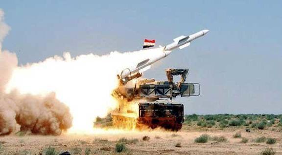 حمله موشکی به فرودگاه الشعیرات حمص و الضمیر دمشق کار اسرائیل بود