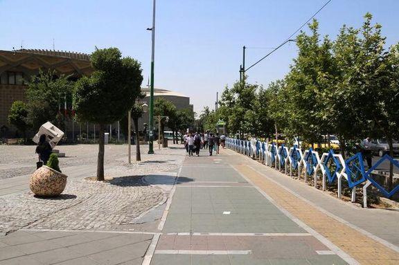 تاترشهر خالی از دستفروشان اطراف تاترشهر پر از دستفروش