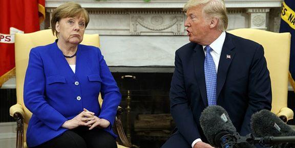 آلمان تقاضای ترامپ  برای خروج از برجام  را رد کرد